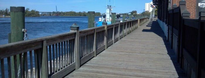 Wilmington Riverwalk is one of Trudy's list.