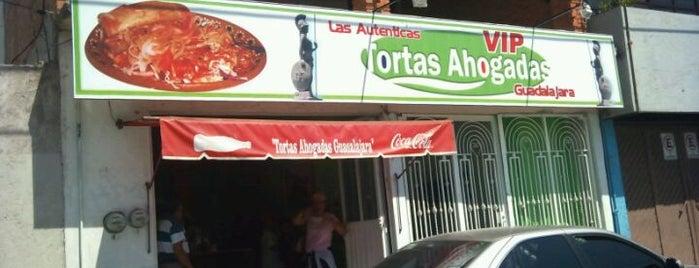 Tortas Ahogadas VIP Guadalajara is one of Locais curtidos por Armando.
