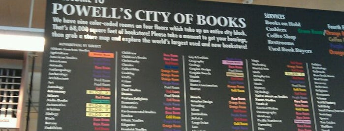 Powell's City of Books is one of My favs.
