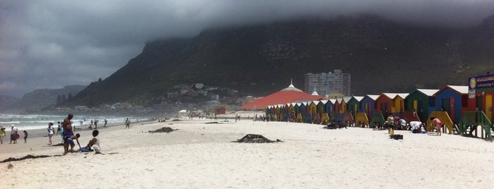 Muizenberg Beach is one of Cape Town.