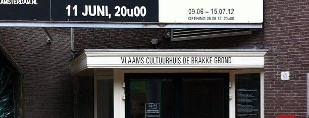 Vlaams Cultuurhuis de Brakke Grond is one of IDFA - Festivallocaties & Tips.