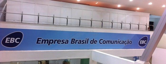Empresa Brasil de Comunicação (EBC) is one of Brasília.