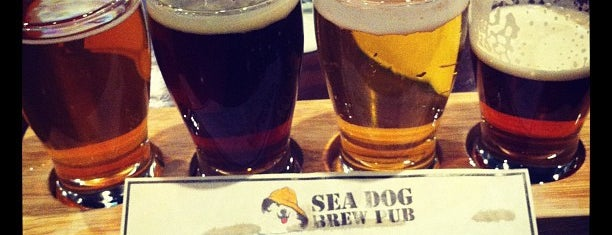 Sea Dog Brew Pub is one of Bars Part 2.