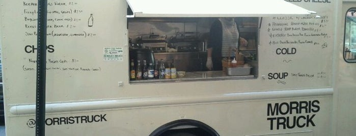 Morris Grilled Cheese Truck is one of NYC.