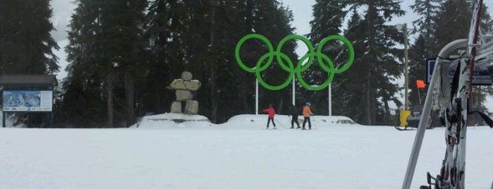 Cypress Mountain is one of Sports Arena's.