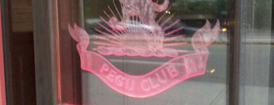 Pegu Club is one of Drinks Intl - World's 50 Best Bars.