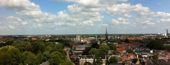 Oldehove (Aldehou) is one of Leeuwarden.