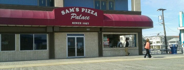 Sam's Pizza Palace is one of Jersey Pizza.