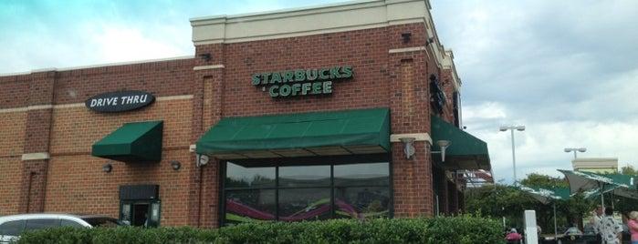 Starbucks is one of Lieux qui ont plu à Rick.
