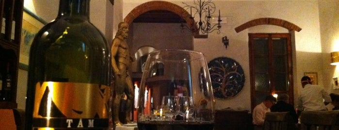 Trattoria Garga is one of Florence spots.