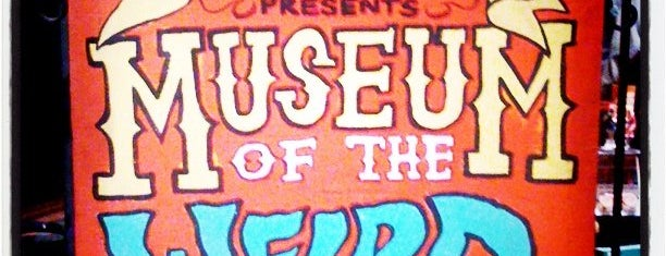 Museum Of The Weird is one of Austin SXSW.