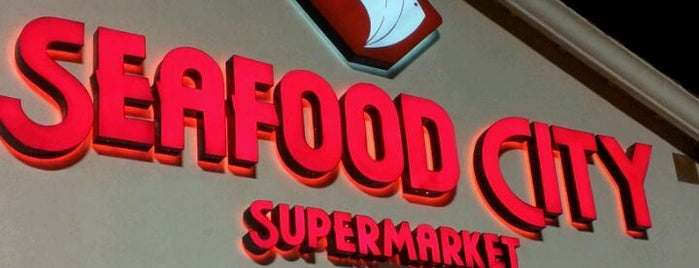Seafood City Supermarket is one of Tempat yang Disimpan Maverick.