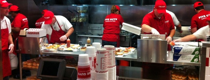 Five Guys is one of badger.