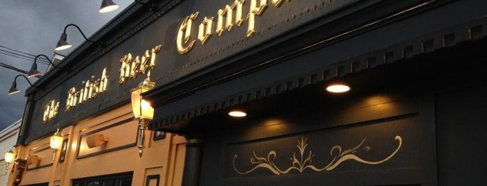 The British Beer Company is one of Leonard'ın Beğendiği Mekanlar.