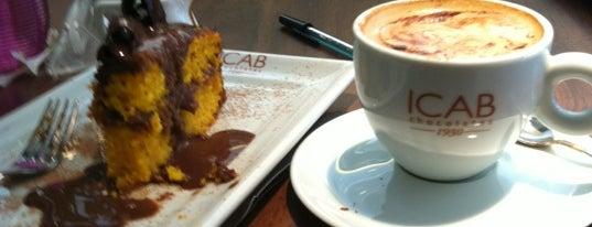 Icab Chocolate Gourmet is one of Bakeries, Coffee Shops & Breakfast Places.