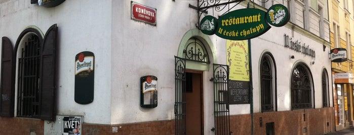 U České chalupy is one of StorefrontSticker #4sqCities: Prague.