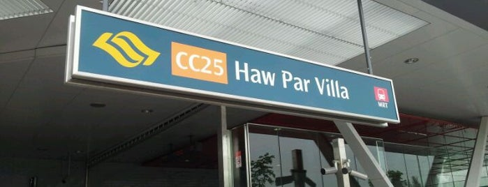 Haw Par Villa MRT Station (CC25) is one of Alexis's Liked Places.