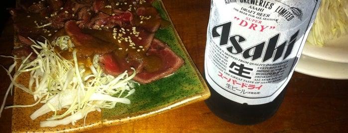 Ken Yakitori Bar is one of Locais curtidos por Simone.