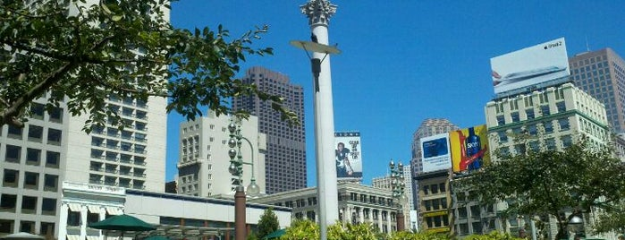 Union Square Building is one of San Francisco!.