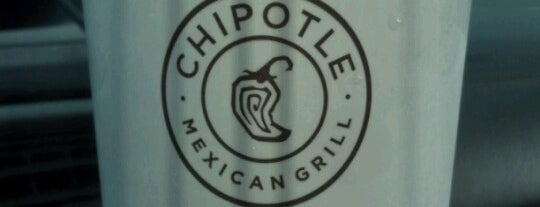 Chipotle Mexican Grill is one of Go-To Eats.