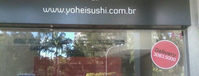 Yohei Sushi is one of Locais curtidos por 'Samuel.
