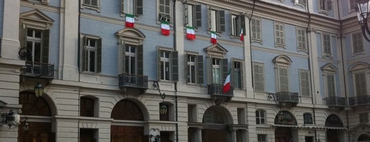 Piazza Carignano is one of Torino.