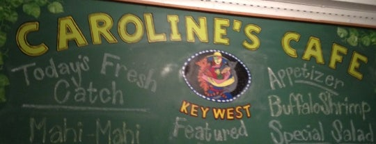 Caroline's Cafe is one of Key West.