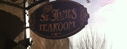 The St. James Tearoom is one of Albuquerque.