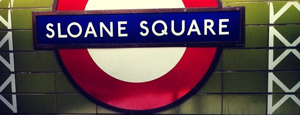 Sloane Square London Underground Station is one of Underground Stations in London.