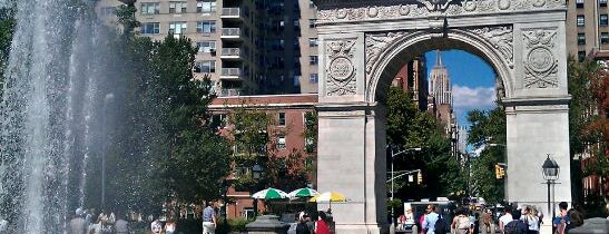 Washington Square Park is one of NY Must by Bellita!.