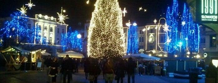 Prešernov trg is one of Slovenia 2013.