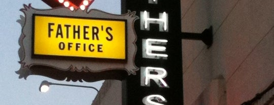 Father's Office is one of Jonathan Gold's 99 Essential LA Restaurants 2011.