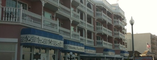 Boardwalk Plaza Hotel is one of Non restaurants.
