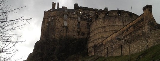 Edinburgh Castle is one of The Bucket List.