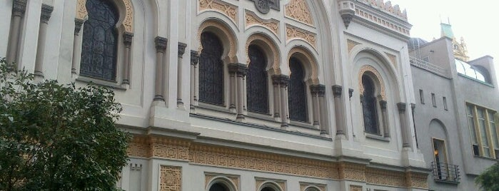 Spanische Synagoge is one of StorefrontSticker #4sqCities: Prague.