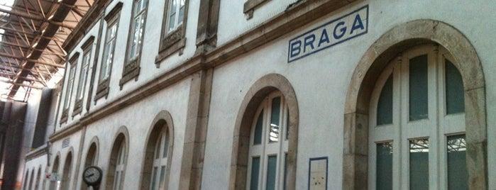 Estação Ferroviária de Braga is one of สถานที่ที่ Miguel ถูกใจ.