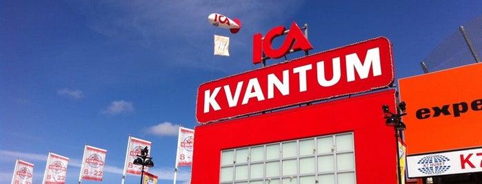 ICA Kvantum Kungens Kurva is one of Lugares favoritos de yılmaz.