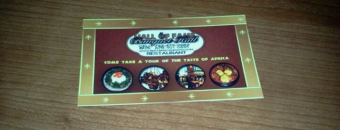 Hall of Fame African Restaurant is one of Do not fail me.