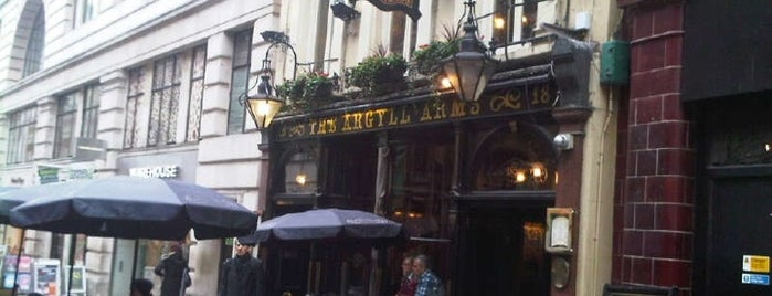 Argyll Arms is one of London.