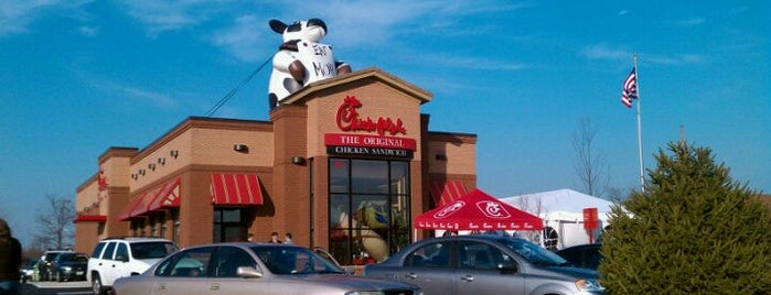 Chick-fil-A is one of Orte, die Dan gefallen.
