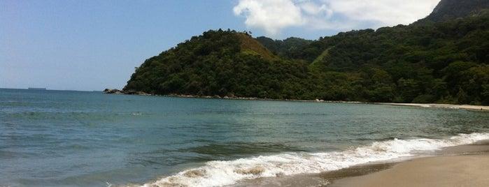Praia de Guaecá is one of Praias de São Sebastião.