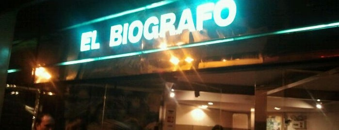 El Biógrafo is one of Cines en Santiago.