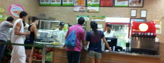 Subway is one of MA.