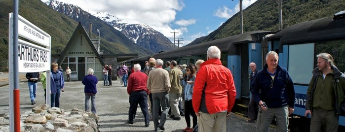Arthurs Pass Train Station is one of Australia and New Zealand.