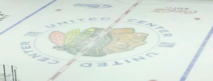 United Center is one of NHL arenas.