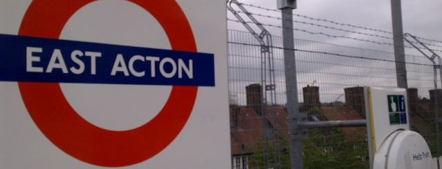 East Acton London Underground Station is one of Underground Stations in London.