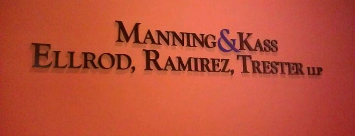 Manning & Kass, Ellrod, Ramirez, Trester LLP - Los Angeles Office is one of Lugares favoritos de Dan.