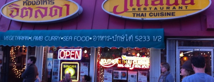 Jitlada Thai Restaurant is one of Jonathan Gold 101 - LA Times.