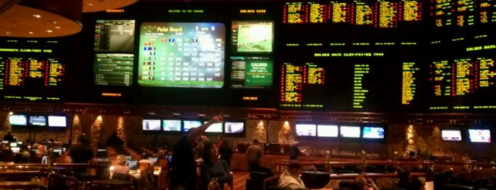 The Mirage Race & Sports Book is one of Las Vegas.