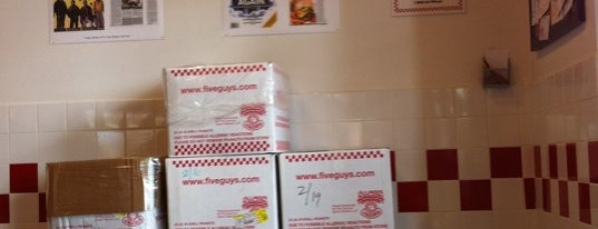 Five Guys is one of The Bay.